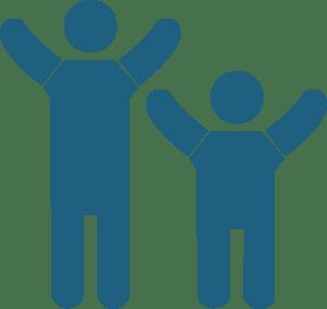 icono de Psicoterapia en niños y adolescentes