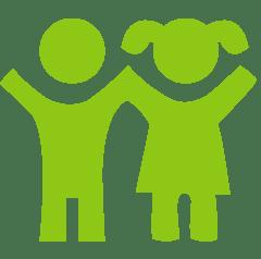 icono de nutricion de niños