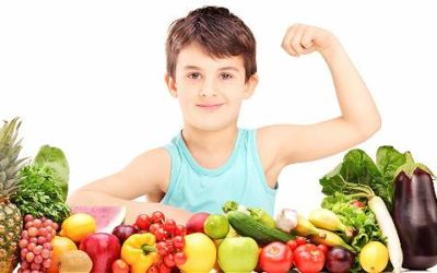 Para crecer sanos y fuertes: nutrición infantil