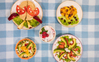 Cena saludable para niños: Último, pero no menos importante
