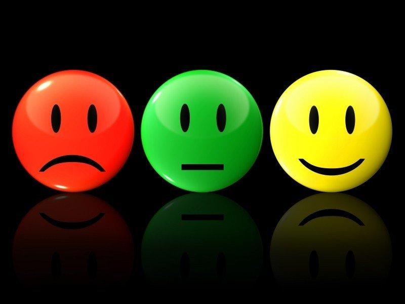 Los sentimientos que tengo son buenos o malos