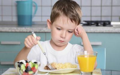 La inapetencia en los niños