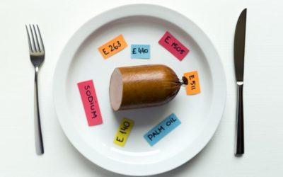Aditivos más utilizados en la industria alimentaria