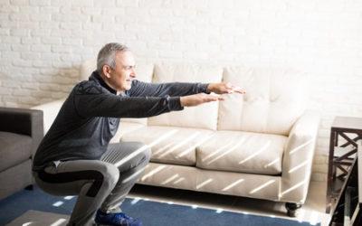 Rompiendo el sedentarismo de adultos mayores en la cuarentena