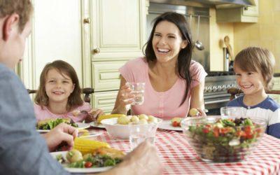 Manteniendo la alimentación saludable de tus niños en cuarentena