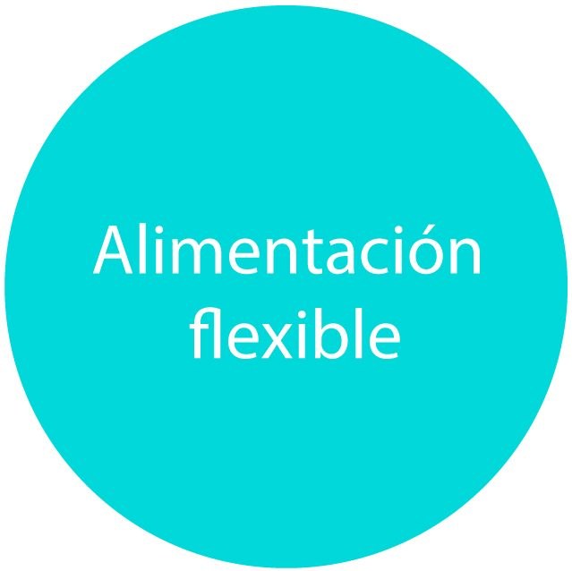 alimentación flexible