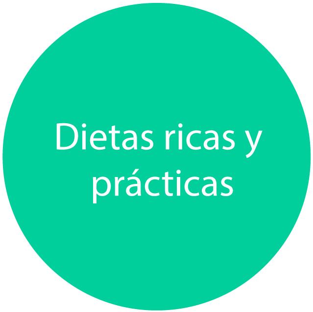 dietas ricas y prácticas