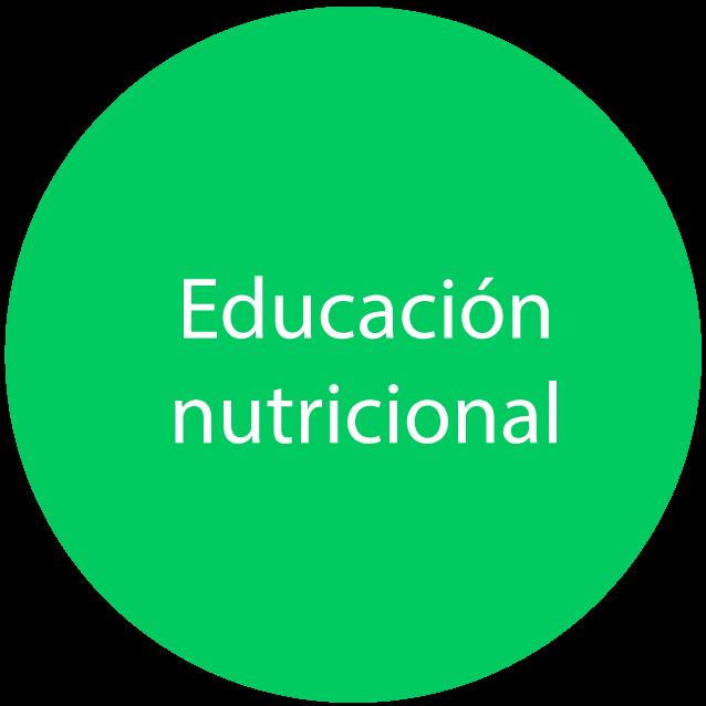educación nutricional en libera
