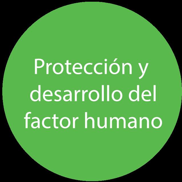 protección y desarrollo del factor humano en servicio corporativo