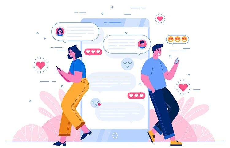Redes sociales de citas