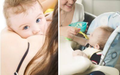 Importancia de la lactancia y la alimentación complementaria