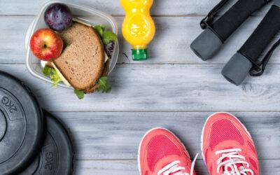 ¿Qué comer después de entrenar?